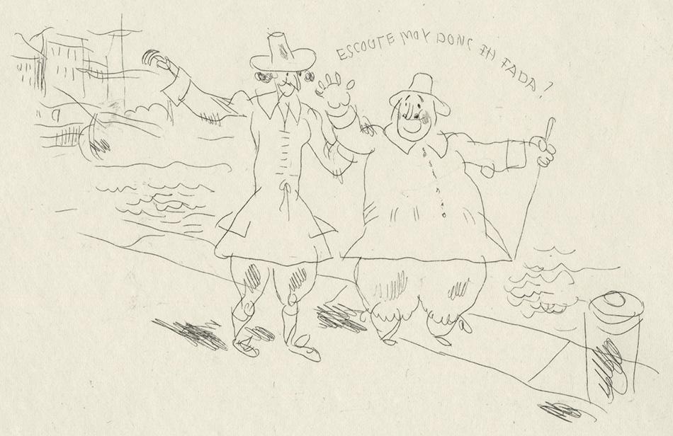 BOFA Gus (Gustave BLANCHOT, dit), Le dépositaire infidèle © Adagp, Paris, 1928