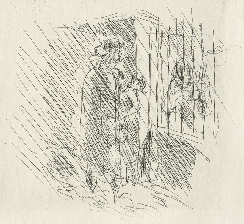 BOFA Gus (Gustave BLANCHOT, dit), Les deux amis © Adagp, Paris, 1928
