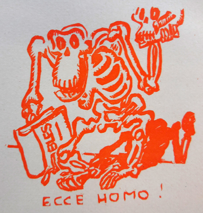 BOFA Gus (Gustave BLANCHOT, dit), Ecce Homo © Adagp, Paris, 1928