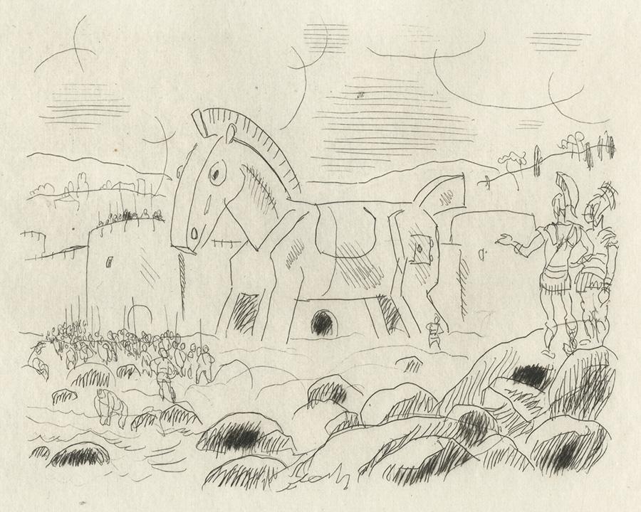 BOFA Gus (Gustave BLANCHOT, dit), Contre ceux qui ont le goût difficile © Adagp, Paris, 1928