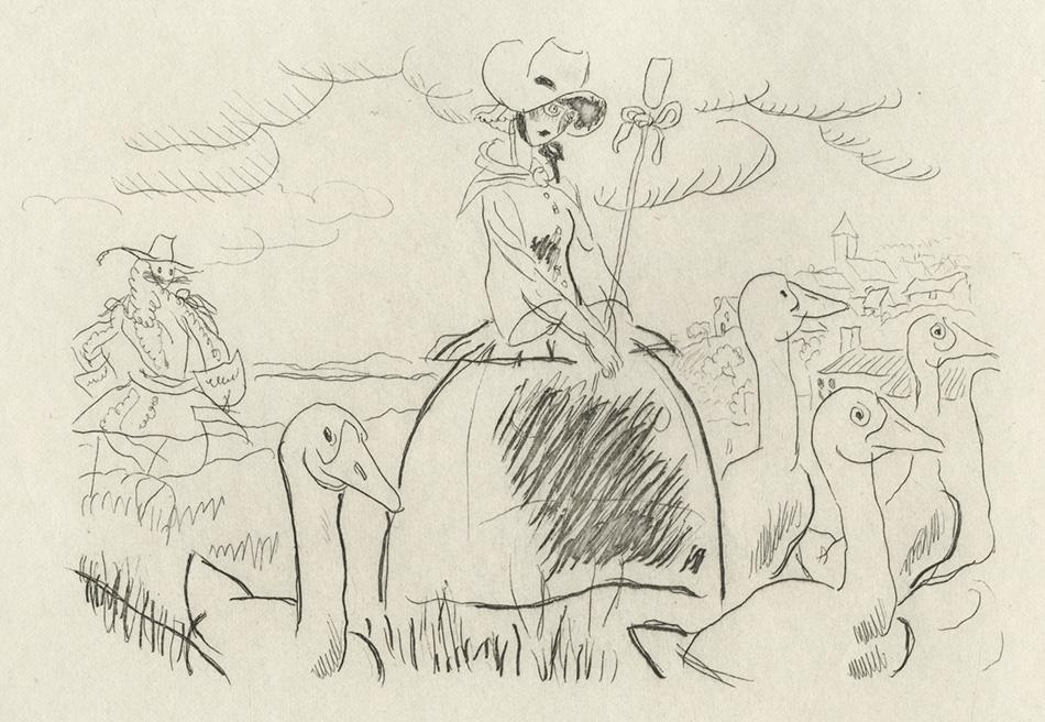 BOFA Gus (Gustave BLANCHOT, dit), Le lion amoureux © Adagp, Paris, 1928