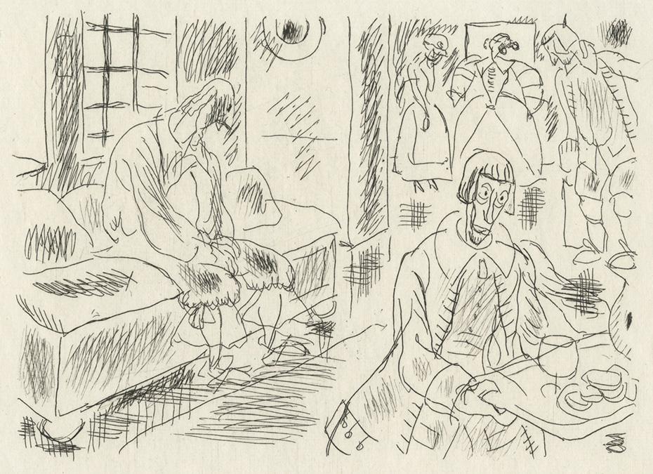 BOFA Gus (Gustave BLANCHOT, dit), Le mal marié © Adagp, Paris, 1928