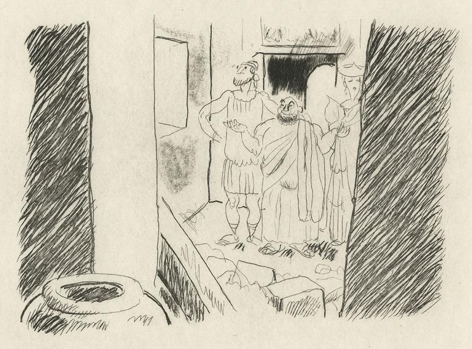 BOFA Gus (Gustave BLANCHOT, dit), Parole de Socrate © Adagp, Paris, 1928