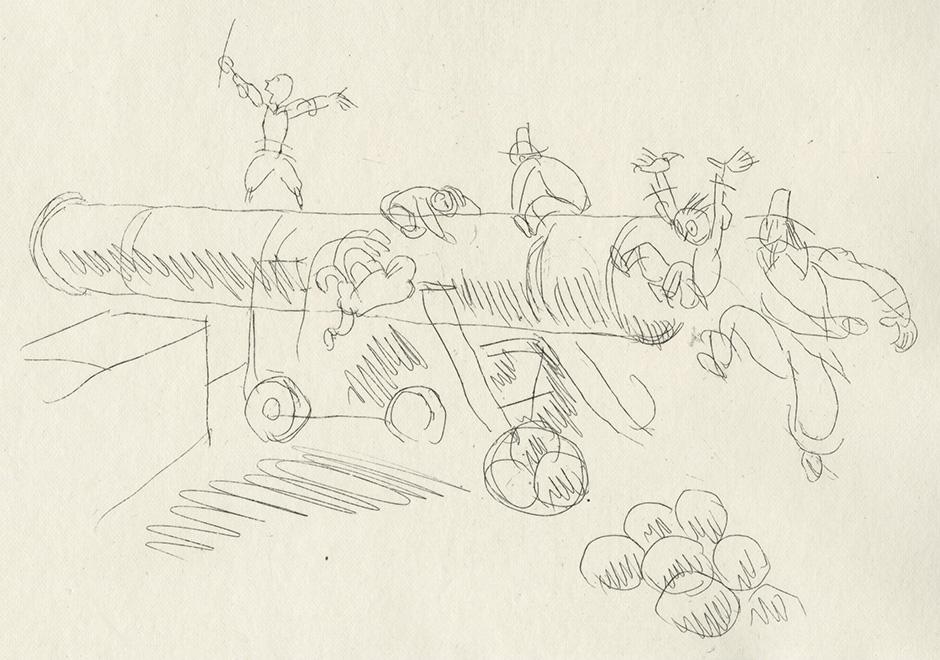 BOFA Gus (Gustave BLANCHOT, dit), Le rat et l'éléphant © Adagp, Paris, 1928